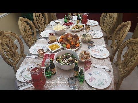 Вопрос: Как организовать ужин на День благодарения?