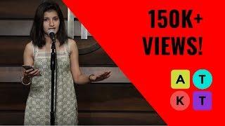 Ishq Unke Liye Nahin Bana Hain | Performance Poetry by Gunjan Saini | ATKT.in Talent Tent