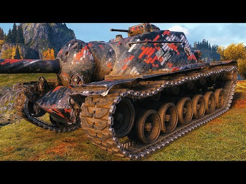 T110E3 - TANK CRUSHER - World Of Tanks Gameplay