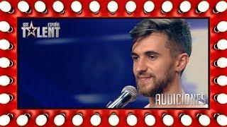 Una extraña enfermedad hace flexible a este contorsionista   Audiciones 2   Got Talent España 2018
