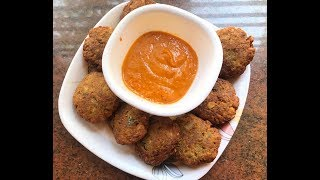 Chickpea Vada - Kabuli Channa Vada- Evening Snack Recipe-Seasoning