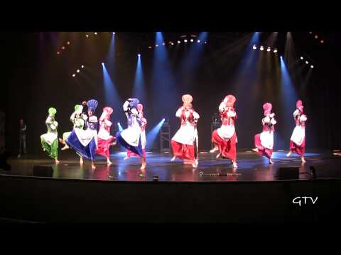 EWC (East West Collaboration) Juniors – Bhangra Idols Showdown 2013