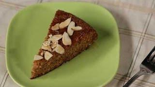 Light, Healthy Flourless Honey Almond Cake Recipe
