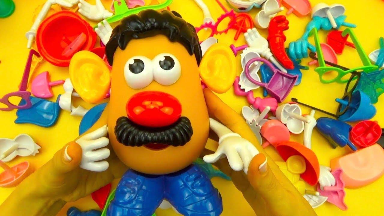 Забавная игрушка конструктор - Мистер Картошка