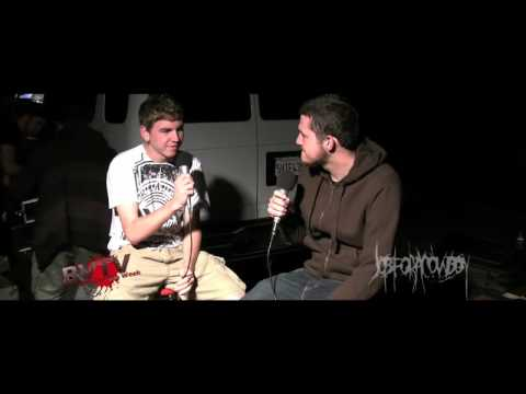Animosity & Job For A Cowboy Interview - BVTV