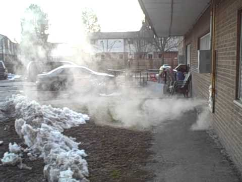 Steam From Dryer Vent Youtube