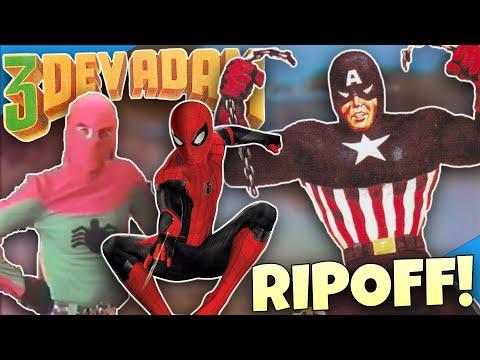 3 DEV ADAM: The Turkish Spider-Man RIPOFF! - Diamondbolt