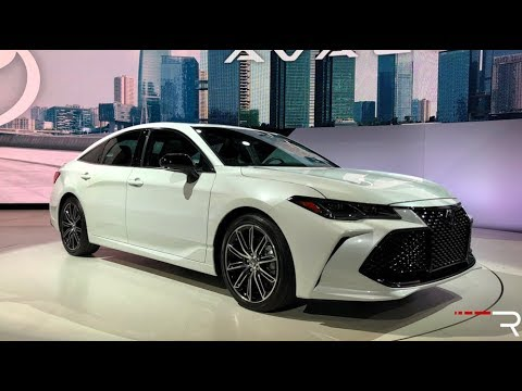 2019 Toyota Avalon Redline First Look 2018 Naias