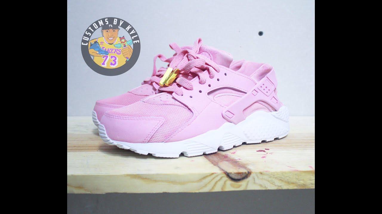 the best attitude cf479 30384 Custom Nike Huaraches + Time Lapse