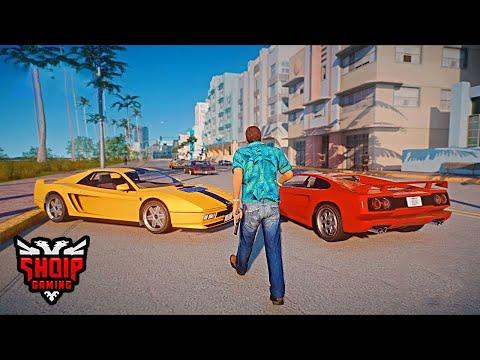 GTA 5 SHQIP - Rikthimi në Qytetin e Vice City !! -  SHQIPGaming