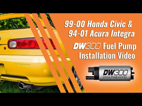 92-00 Civic and 94-01 Integra DW200/300 Fuel Pump Installation Guide