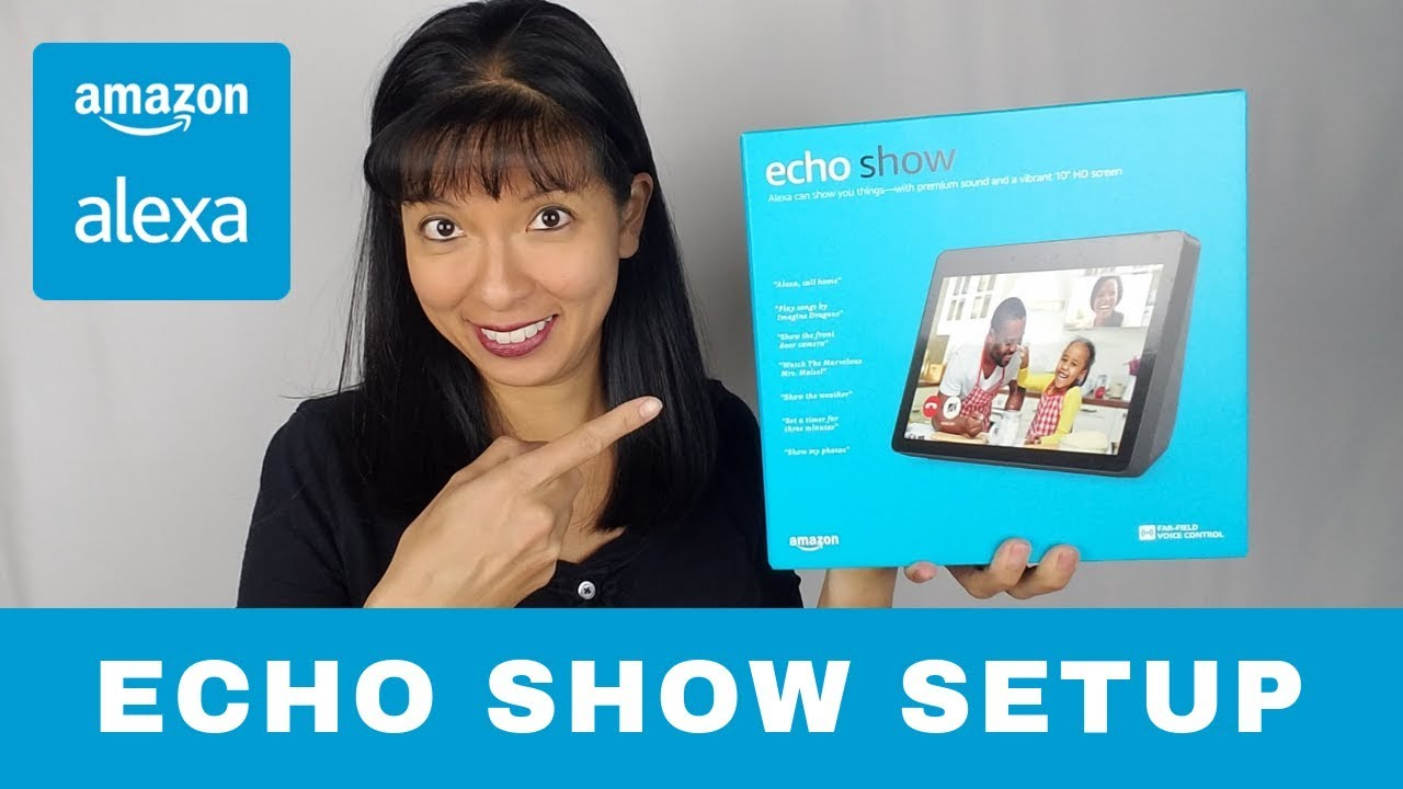 amazon echo show 2nd gen unboxing and setup alexa youtube. Black Bedroom Furniture Sets. Home Design Ideas