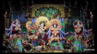 Sandhya Arati Darshan Sri Sri Radha Rasbihari Temple 14th Jan 2019 Live from ISKCON Juhu, Mumbai