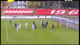 Волынь - Черноморец - 1:1. Гол: Ивица Жунич (76')