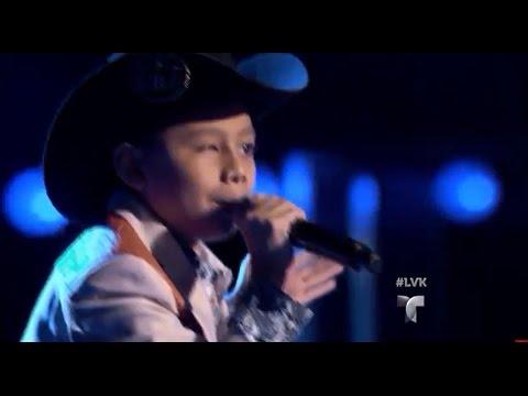 La Voz Kids | Felipe Vasquez canta 'Mi Niña Bonita' en La Voz Kids