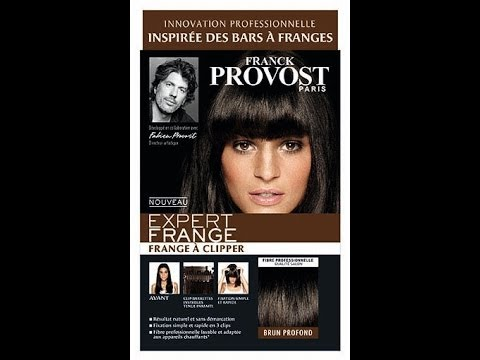 revue frange a clip de chez franck provost d mo tenue du jour youtube. Black Bedroom Furniture Sets. Home Design Ideas
