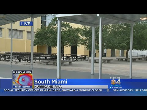 Here Are The Four Shelters Now Open In Miami-Dade