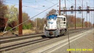Edison, NJ - NEC (Northeast Corridor) - Amtrak/NJ Transit - November 13, 2015