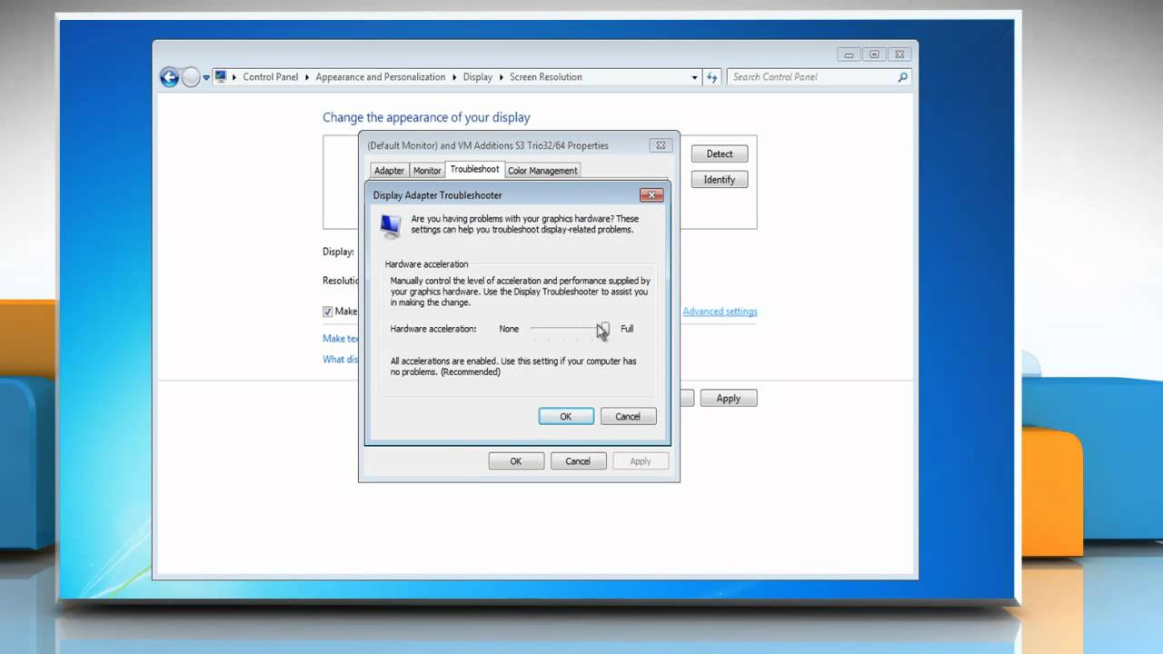 How to Enable or Disable Hardware Acceleration in Windows® 7 - YouTube