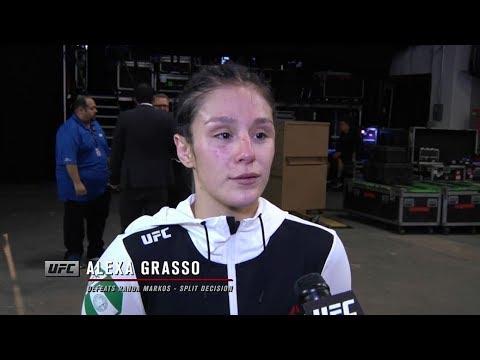 "Fight Night Mexico City: Alexa Grasso ""I Truly Knew That I Won This Fight"""