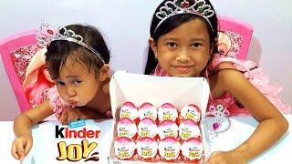 Princess Buka 12 Kinder JOY SURPRISE EGG  💖 Hadiahnya apa aja ya teman teman ???...