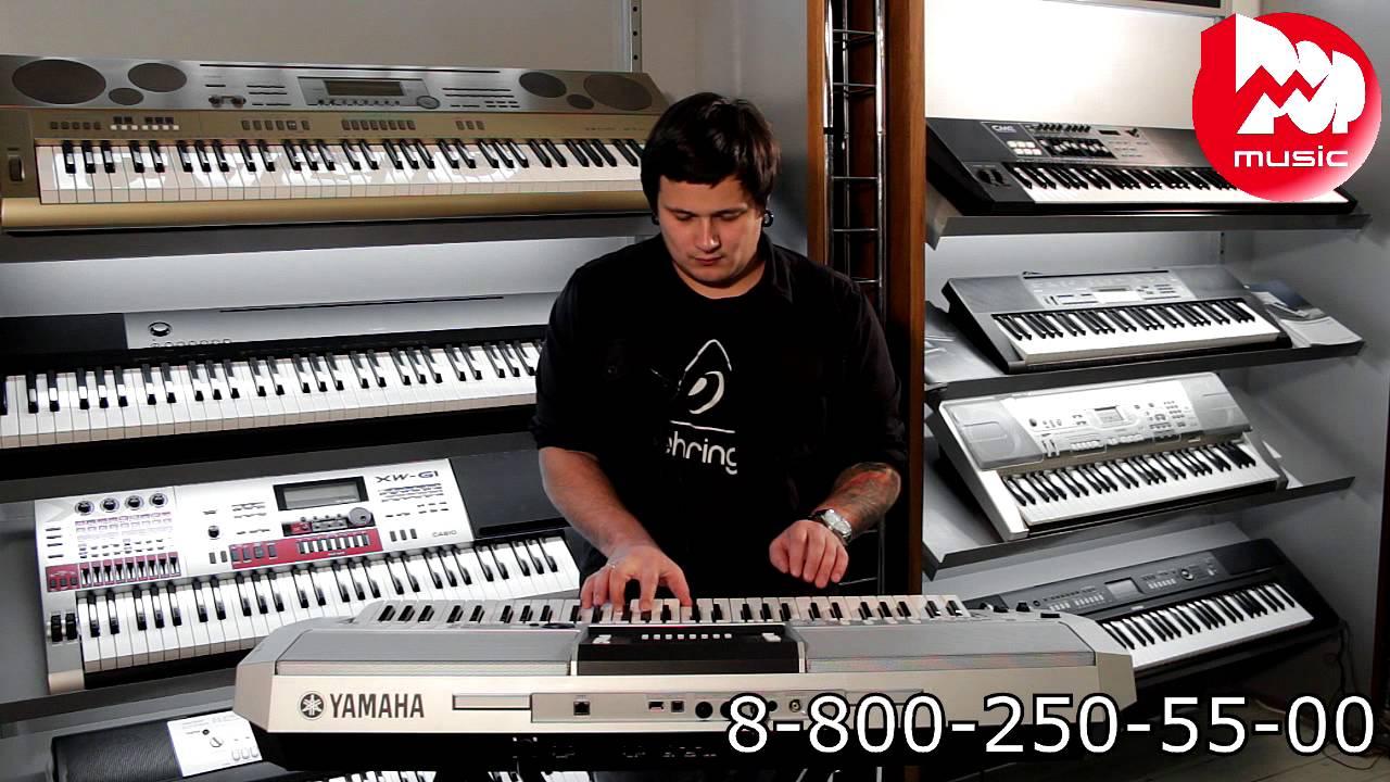 21 ноя 2007. Cjcity. Ru обзор самых популярных моделей синтезаторов yamaha.