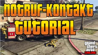 GTA 5 Online Tutorial | Notruf-Kontakt ins Handy Speichern | GTA Online | PS4 & Xbox One