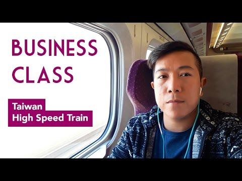 Business Class on Taiwan High Speed Rail Train | Travip The Wanderlust