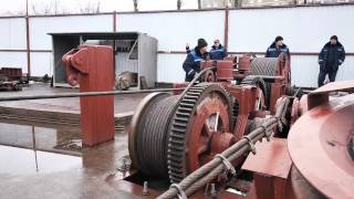 26-02-2015  Осуществлен спуск на воду буксира «РБ-366» проекта 90600, стр. № 943(, 2015-03-01T11:24:04.000Z)