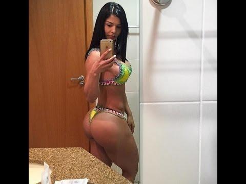 Eva Andressa  Female Fitness Motivation Workout BOOTY [ Musas Wellness ]