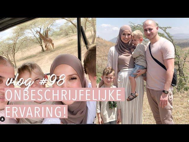 Op SAFARI met twee kleine KINDEREN! 🦁 🐒🦒  ( 15 weken zwanger)| Vlog #98. | Delia Skin Master