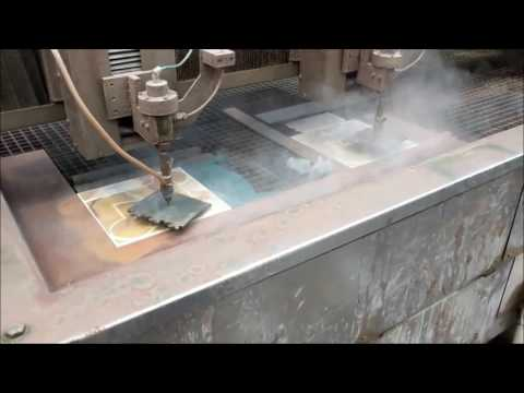 Precision Waterjet Cutting from Armatile