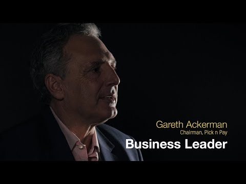 The Gareth Ackerman business leadership journey.