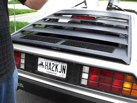 for sale 1982 delorean in immaculate condition only 6100 miles