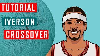 Баскетбол. Как  делать кроссовер Аллена Айверсона? Обучение (How to do Allen Iverson Crossover)