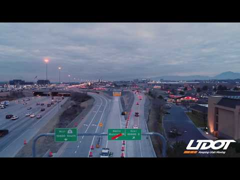 10600 South Underpass Opens