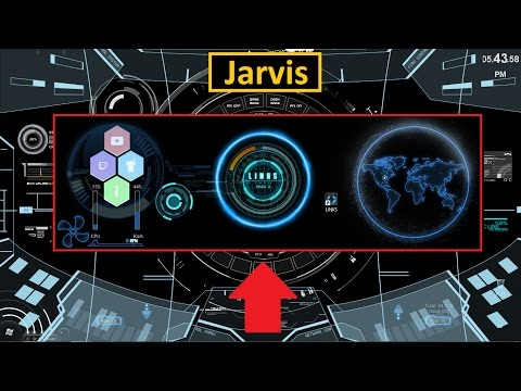 "How To Install Jarvis On Your Computer Using The Artificial Intelligence ""Link"" & ""Rainmeter"""