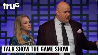 Talk Show the Game Show - Wendi McLendon-Covey Channels Her Inner Real Housewife | truTV