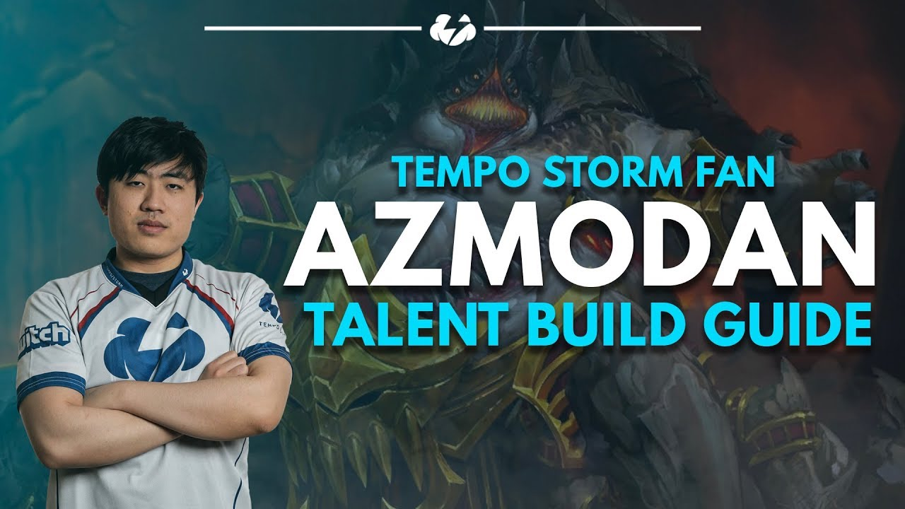 Amazadin azmodan talent build guidetempo storm fan – heroes of the storm