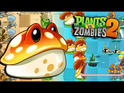 MI NUEVA PLANTA HONGO - Plants Vs Zombies 2