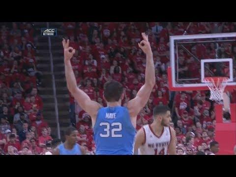 UNC Men's Basketball: Luke Maye Lights Up NC State
