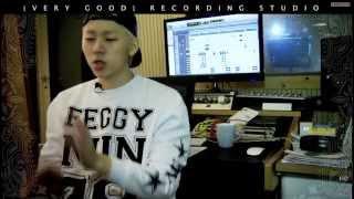 131002Naver Music Special - Block B Very Good Recording Making
