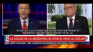 Funcionarios de Trump pronostican el regreso de Argentina a la convertibilidad