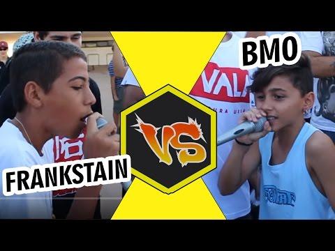 BMO VS Frankstain  Batalha de RAP do Museu