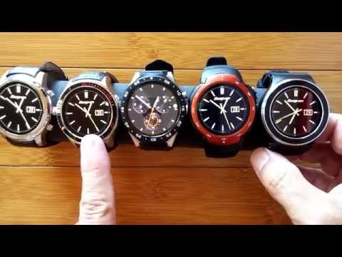 Round Android 5.1 I2/KW88/Z9/S99 Watches Compared: 2-Build Quality