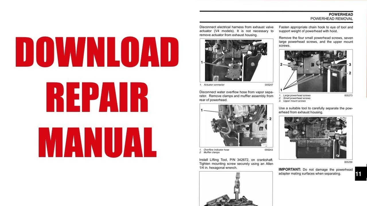medium resolution of evinrude e tec 200 repair manual