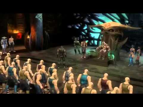 Полный фильм из игры Mortal Kombat 9, RUS...