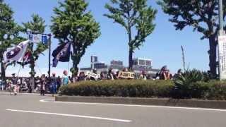 2013年5月3日に開催された第61回横浜開港記念みなと祭 国際仮装行列「ザ...