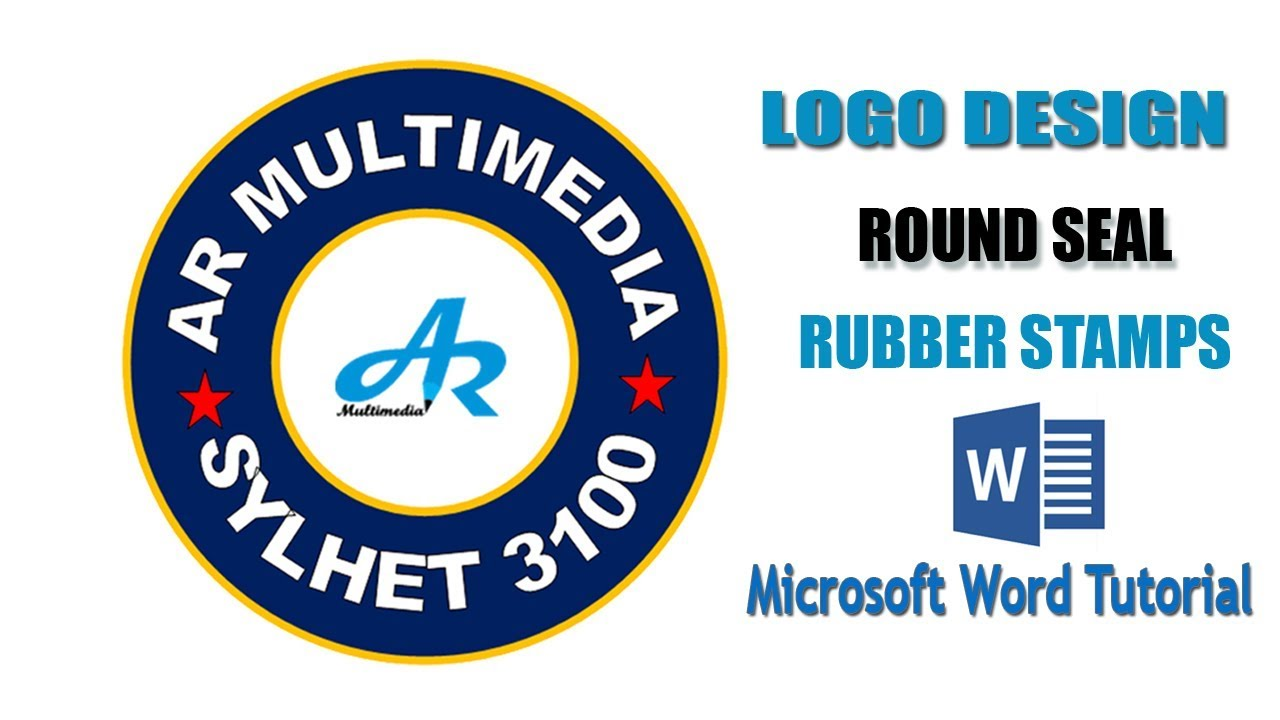 Microsoft Word Rubber Stamp Seal