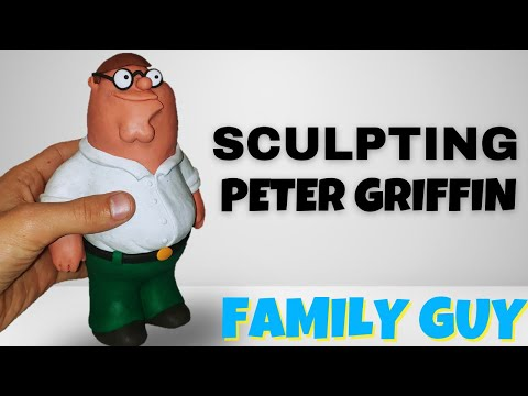 How To Make Peter Griffin (Family Guy)   Polymer Clay Tutorial
